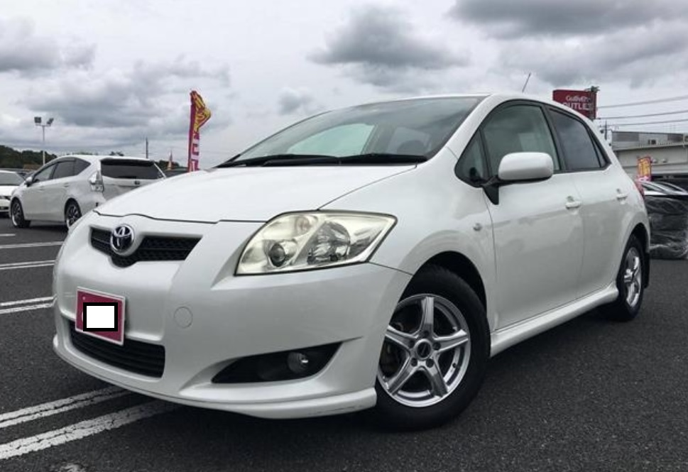 2007 Toyota Auris 180GS Package