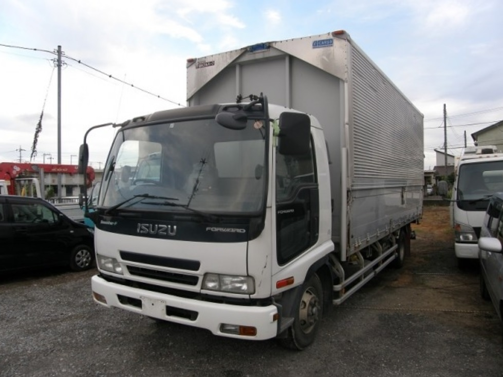 2005 Isuzu Forward Aluminum Wingvan