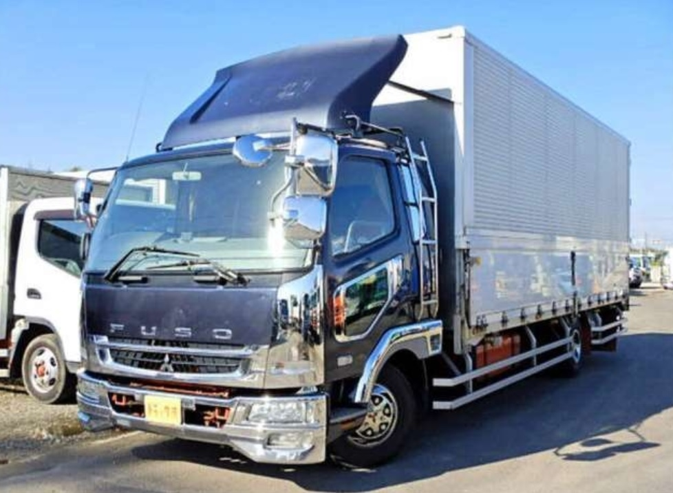 2006 Mitsubishi Fuso Fighter Aluminum Wingvan