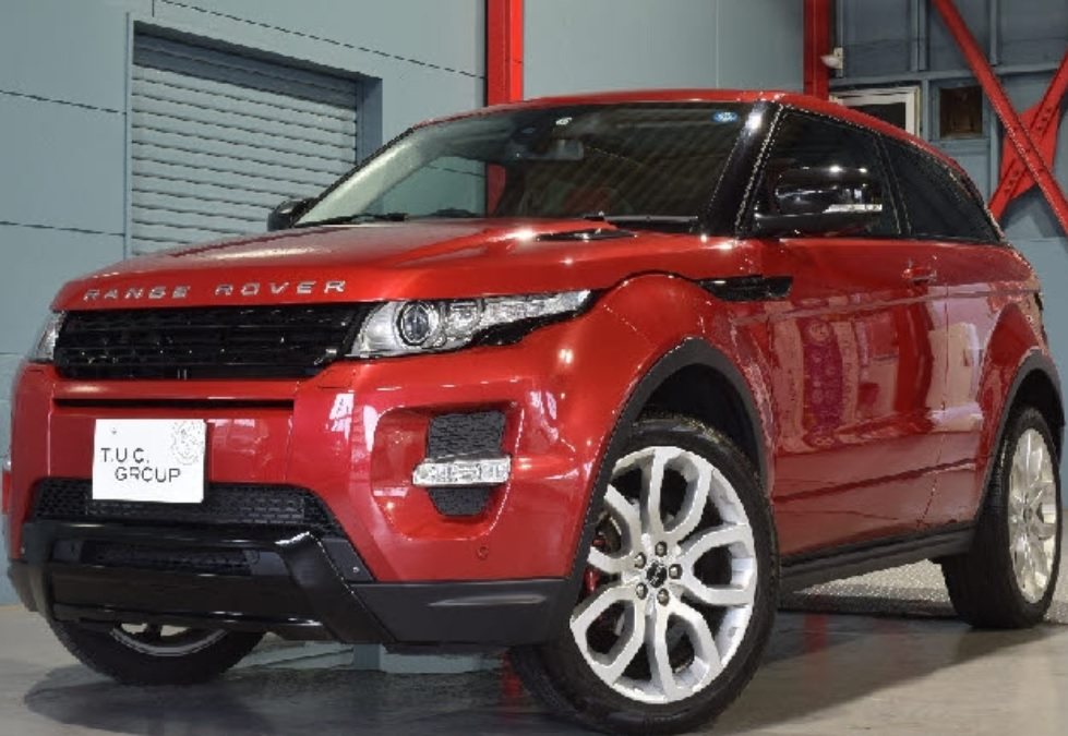 2013 Land Rover Range Rover Coupe Dynamic